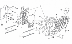 Engine - Crankcase - Aprilia - Nut