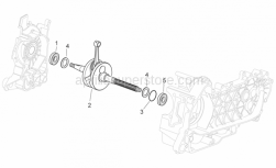 Engine - Drive Shaft - Aprilia - Gasket ring