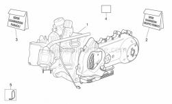 Engine - Engine - Aprilia - Engine set gasket