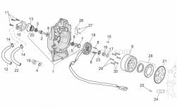 Pump impeller drive key