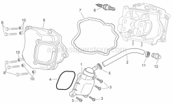 Engine - Oil Breather Valve - Aprilia - Oil breather valve