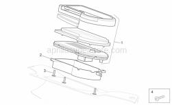 Frame - Dashboard - Aprilia - Socket support