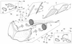 Frame - Headlight - Aprilia - GLASS
