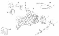 Frame - Rear Caliper - Aprilia - Pads pair