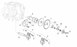 Engine - Camshaft - Aprilia - Decompressor counterweight