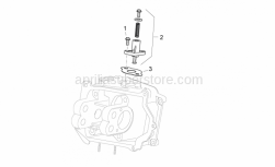 Engine - Chain Tensioner - Aprilia - Gasket