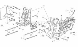 Engine - Crankcase - Aprilia - STUD M8 B125