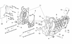 Engine - Crankcase - Aprilia - COMPLETE CRANKCASE