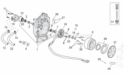 Engine - Ignition Unit - Aprilia - Gasket ring