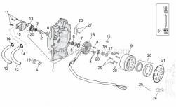 Engine - Ignition Unit - Aprilia - BEARING X9 250