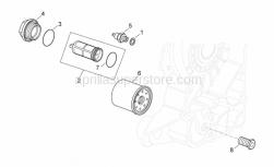 Engine - Oil Filter - Aprilia - Washer 10,5x17x1,5