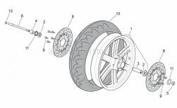 Frame - Front Wheel - Aprilia - WHEEL RIM