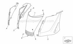 Frame - Rear Body I - Aprilia - BAND
