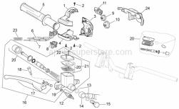 Frame - Rh Controls - Aprilia - RH Brakes pump