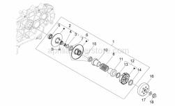 Engine - Clutch - Aprilia - Clutch drum
