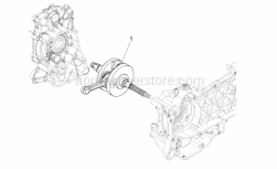Engine - Drive Shaft - Aprilia - CRANKSHAFT CAT 2