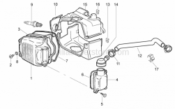 Engine - Head Cover - Aprilia - Hose clamp