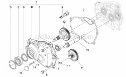 Engine - Transmission - Aprilia - Washer 8.2x12x1
