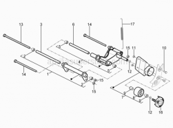 Frame - Connecting Rod - Aprilia - BUSH