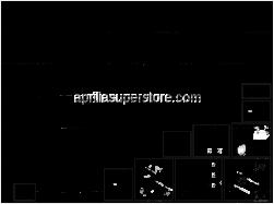 Frame - Electrical System - Aprilia - Spring plate M6