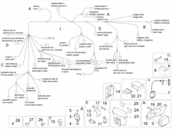 Frame - Electrical System - Aprilia - BRACKET WITH P.I.