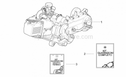 Engine - Engine - Aprilia - GASKET SET ET4 50cc