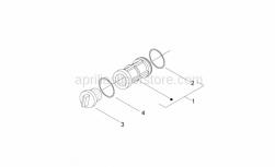 Engine - Oil Filter - Aprilia - PLUG