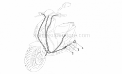 Engine - Transmissions - Aprilia - BRAKE ADJUSTER