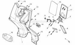 Frame - Central Body I - Aprilia - Hinge