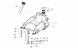 Frame - Fuel Tank - Aprilia - Flat washer 6,5x21