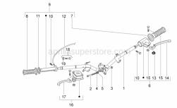 Frame - Handlebar - Aprilia - Flat washer 22x10,3x2,5