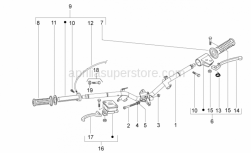 Frame - Handlebar - Aprilia - Front brake lever