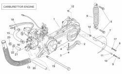 Engine - Engine (Carburettor) - Aprilia - Pump-cylinder hose