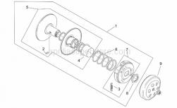Engine - Hong Zengr Clutch - Aprilia - Guide pin