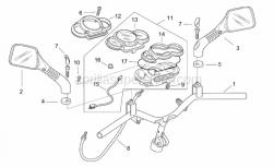 Frame - Handlebar - Dashboard - Aprilia - Dashboard cable