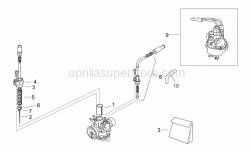 Engine - Carburettor I - Aprilia - Conical pin A12