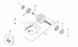 Connecting rod cpl.