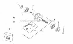 Flywheel magneto key