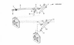 Engine - Cylinder Head II - Aprilia - Hose clip D8
