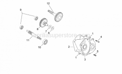 Engine - Transmission Final Drive - Aprilia - Cover gasket