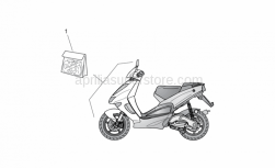 Frame - Front Body Decal Set - Aprilia - Front body decal set