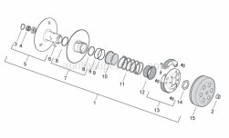 Engine - Clutch - Aprilia - Roller cage