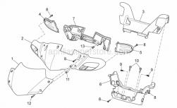 Frame - Front Body I - Aprilia - Plastic rivet