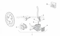 Frame - Front Brake Caliper - Aprilia - Brake caliper rev. kit