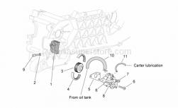 Belt for oil pump