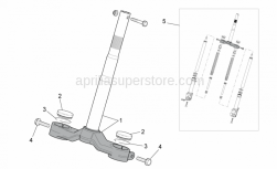 Frame - Front Fork I - Aprilia - screw M10x35