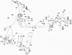 Braking System - Transmissions - 5.02 - Aprilia - Screw w/ flange M6x12