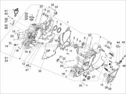 Engine - Crankcase - Aprilia - Oil pressure sensor