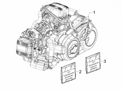 Engine - Engine, Assembly - Aprilia - PRODUCTIVE ENGINE