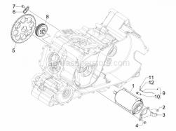 Engine - Stater - Electric Starter - Aprilia - Starter motor